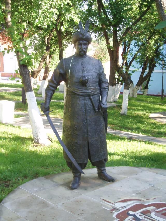Один із пам'ятників Хмельницькому в Києві. Фото Wikipedia.