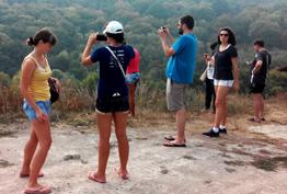 Туристи з Вінниці у Буші